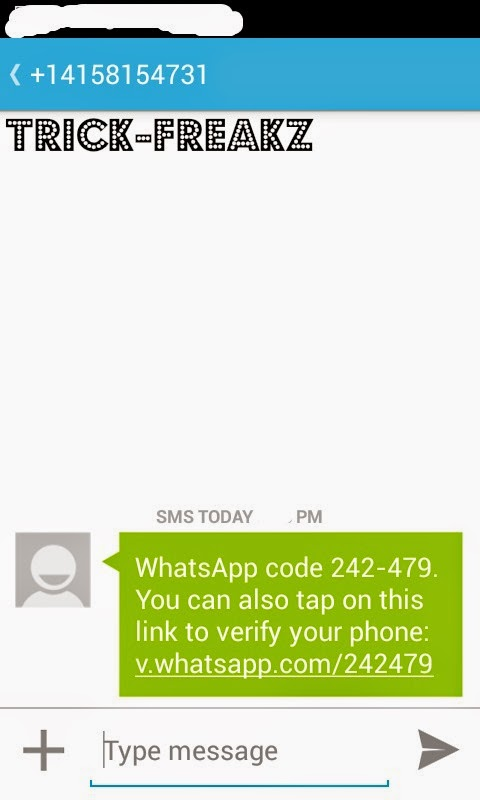 HOW TO USE WHATSAPP WITHOUT MOBILE NO  WITH VOXOX NUMBERS